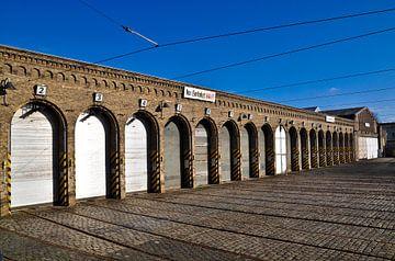 Old Tram Depot of Berlin  van Silva Wischeropp