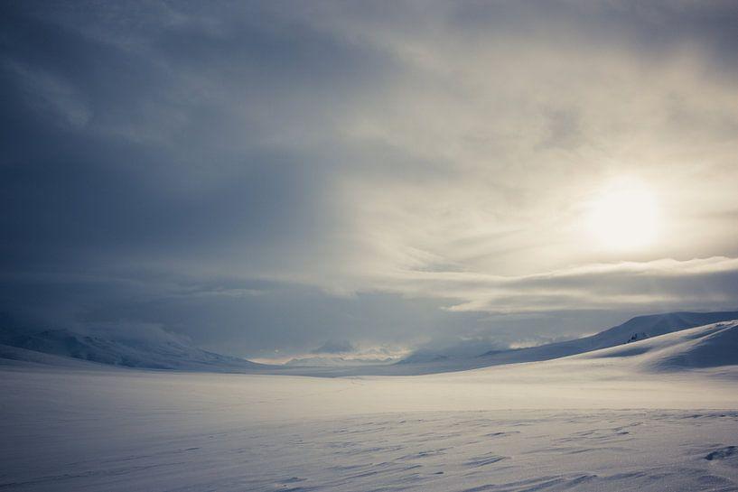 Niemandsland op Spitsbergen van Tomas Grootveld