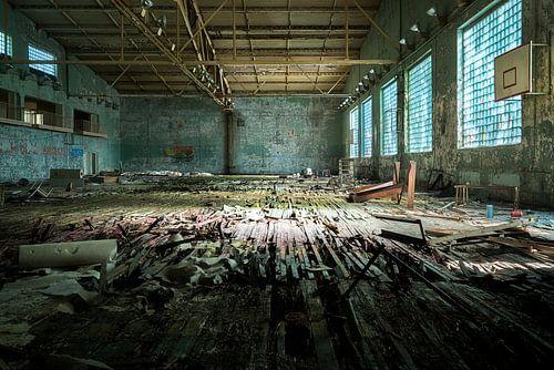 Verlaten Sportzaal. van Roman Robroek