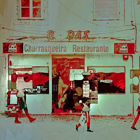 Passing the restaurant van Gabi Hampe