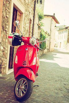 Vespa in een Italiaans straatje I