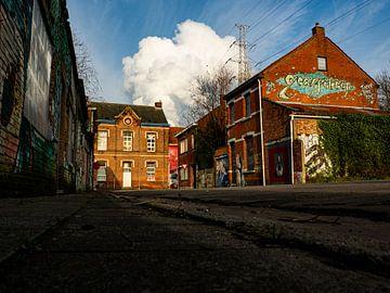 Verlaten stad Doel, België van Matthijs Heeneman
