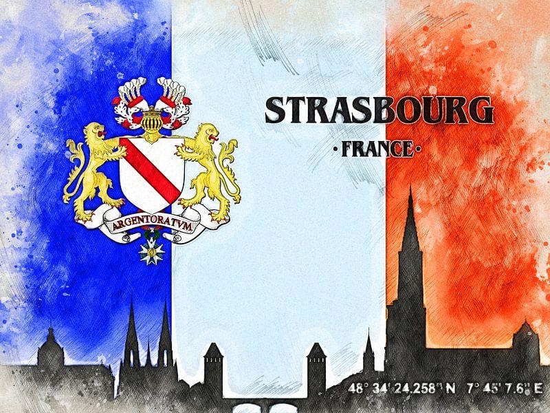 Straßburg van Printed Artings