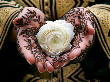 Henna tatoeage op handen van Shot it fotografie