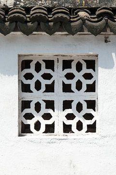 Aziatisch raam van Norma Jesse