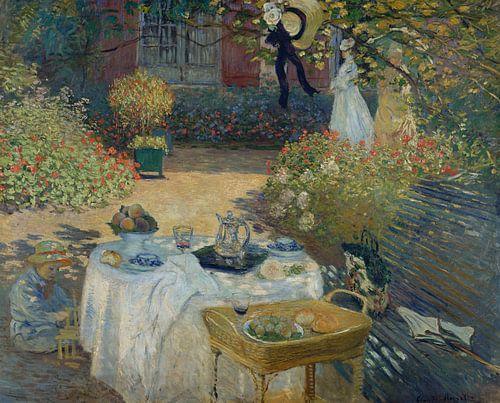 Panneau Decoratif - Claude Monet  van