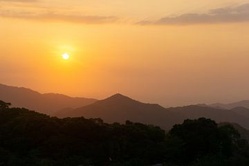 Zonsondergang in Minca, Cartagena von Selma Hamzic