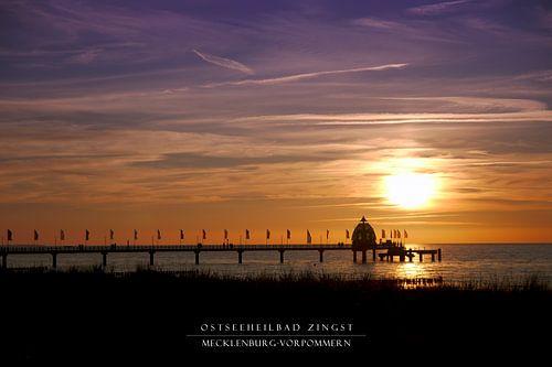 Ostseeheilbad Zingst (without frame) sur Felix Lachmann