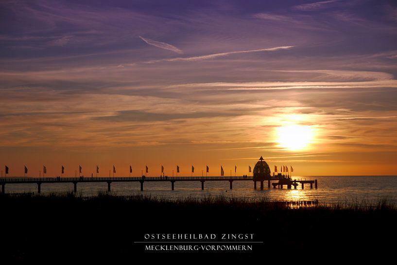 Ostseeheilbad Zingst (rahmenlos) von Felix Lachmann