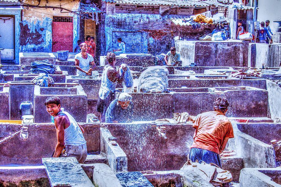 Dhobi Ghat Pt II HDR van Alex Hiemstra