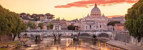Zonsondergang in Rome - Roman sunset