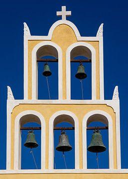 Kirchenglocken auf Santorin, Griechenland von Adelheid Smitt