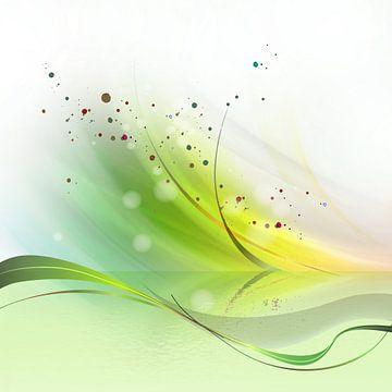 fresh green spring van Andreas Wemmje