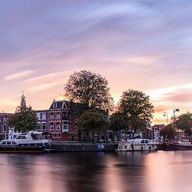 Panorama, Koudenhorn aan het Binnen Spaarne kleur van Arjen Schippers