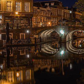 Visbrug, Leiden van Carla Matthee