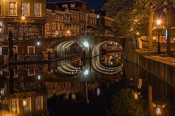 Visbrug, Leiden