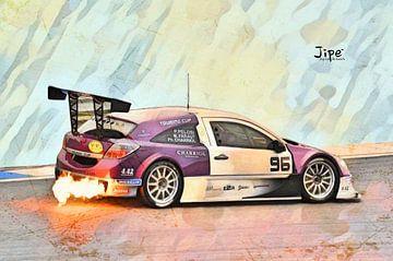 Opel Astra VdeV von JiPé digital artwork