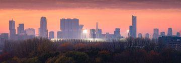 De Kuip und Skyline Fussballstadion Rotterdam von Vincent Fennis