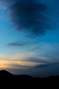 Blauwe lucht 1
