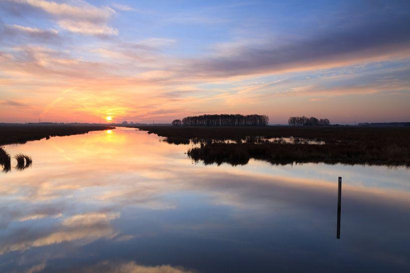 Dutch Sunrise van Sander van der Werf