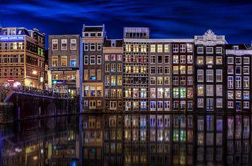 Damrak Amsterdam sur Mario Calma