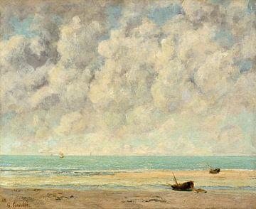 De kalme zee van Gustave Courbet