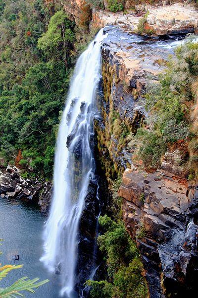 Waterval Zuid Afrika van Paul Franke
