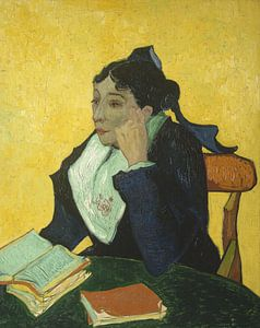 L'Arlésienne (Marie Ginoux), Vincent van Gogh - 1888 van Het Archief