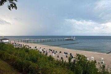 Ostsee - Strand und Seebrücke Koserow (Insel Usedom) von t.ART