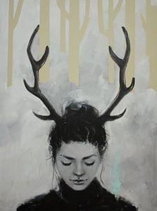 Als een gewond hert van Petra Kaindel