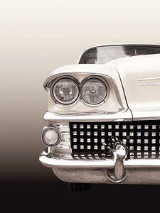 Amerikaanse oldtimer 1958 van Beate Gube