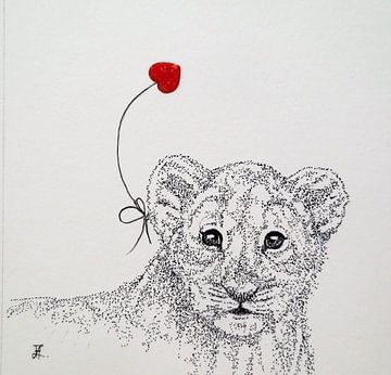 HeartFlow Leeuwenwelp van Helma van der Zwan