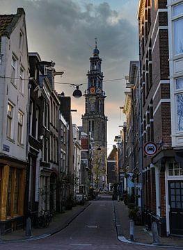 Amsterdam Westertoren von Odette Kleeblatt