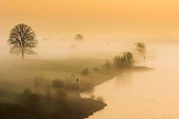 zonsopkomst oude IJssel van Bart Harmsen