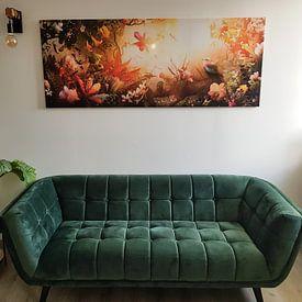 Kundenfoto: Spectra von Jesper Krijgsman, auf leinwand