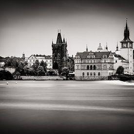 Prague en noir et blanc sur Alexander Voss