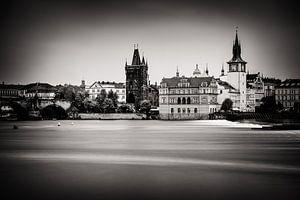 Praag in zwart-wit van Alexander Voss