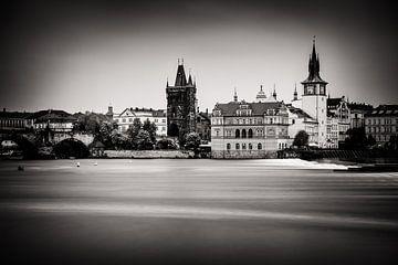 Prague en noir et blanc