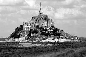 Le Mont-Saint Michel (Normandie) von Frank Herrmann