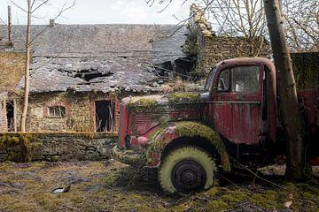 Oude Vrachtwagen van Perry Wiertz