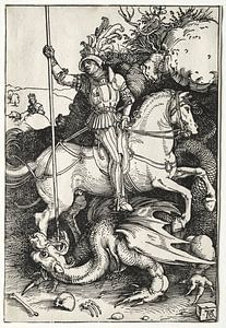 Sint Joris en de draak, Albrecht Dürer van De Canon