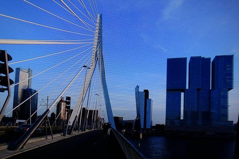 Rotterdam bridge von David Van der Cruyssen