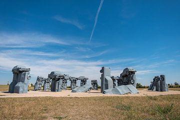 Carhenge, Nebraska van Richard van der Woude