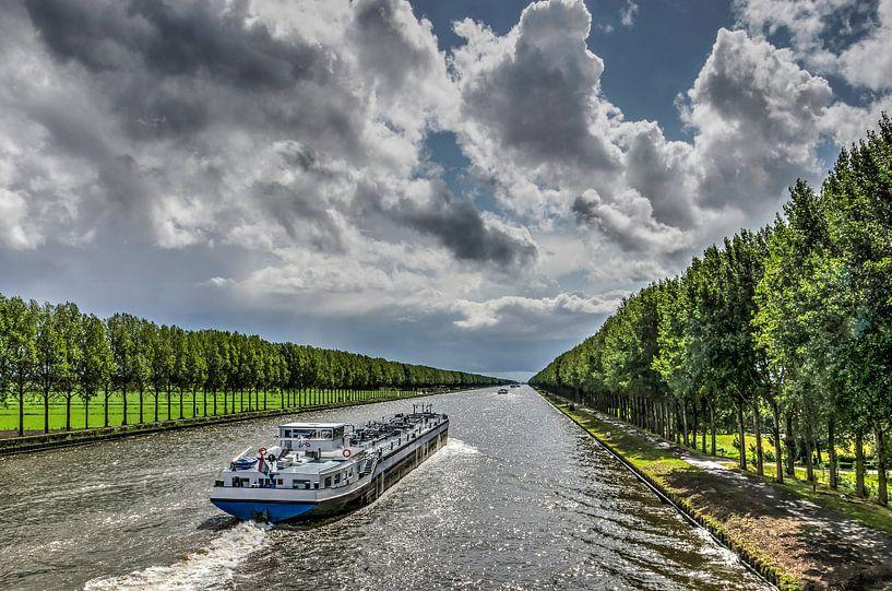 Perspectif du canal sur Frans Blok