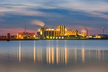 Industrie Chemiepark Delfzijl van Annie Jakobs