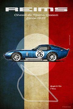 Daytona Coupe Reims Vintage von Theodor Decker