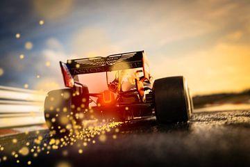 Max Verstappen RB16 - RedBull Racing F1 van Kevin Baarda