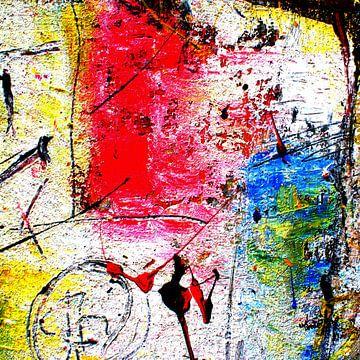 abstrakte Malerei RW2   limitierte Auflage 1-100