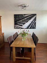 Kundenfoto: Last Note – Piano von 3,14 Photography, auf leinwand