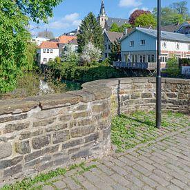 Altstadt von Kettwig an der Ruhr von Peter Eckert